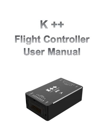 K++ Flight Controller User Manual-jiyi