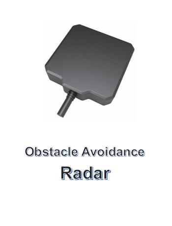 Obstacle Avoidance Radar-jiyi